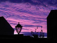 Purple Sky by Zanic.deviantart.com on @deviantART