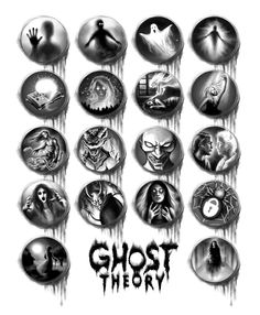 All the icons for our Kickstarter reward tiers. What will you be? See more about Ghost Theory game on www.ghost-theory.com