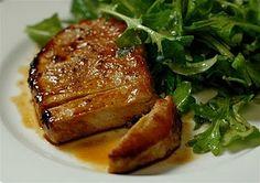 Honey Glazed Pork Chops #pork