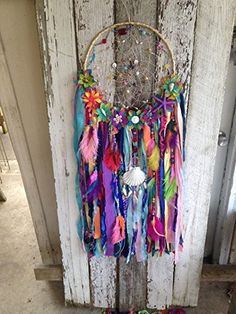 Mermaid Dreamcatcher mermaid collection by OliviaSueDesigns Grand Dream Catcher, Lace Dream Catchers, Beautiful Dream Catchers, Dream Catcher Mobile, Dream Catcher Craft, Dream Catcher Boho, Dream Catcher Tutorial, Hippy Room, Bohemian Decor