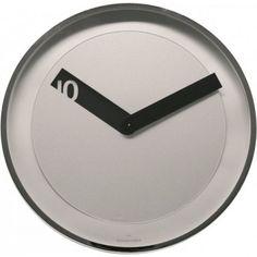 Twins nástenné hodiny 08 strieborné Clock, Wall, Decor, Watch, Decoration, Clocks, Walls, Decorating, Deco