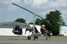 A naked AutoGyro GmhB MT-03. The MT-03, a so called Ultraleicht Tragschrauber (Ultralight Gyroplane), was the first autogyro which received the German UL type certification from the DULV (German Microlight Association).
