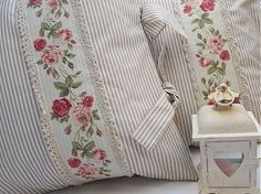 Staggering Useful Tips: Shabby Chic Garden Screen Doors shabby chic curtains gray.Shabby Chic Crafts Homemade shabby chic rustic old windows.Shabby Chic Ideas The Doors. Shabby Chic Pillows, Shabby Chic Curtains, Shabby Chic Crafts, Chic Bedding, Shabby Chic Living Room, Shabby Chic Interiors, Shabby Chic Furniture, Shabby Chic Decor, Sewing Pillows