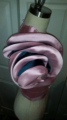 Sculptural Reconstruction-Rose sleeve-by TR Masters2014