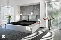 house in Poland, by anyForm, photo Rafal Lipski Master Bedroom Interior, Home Bedroom, Bedrooms, Houses In Poland, Bunk Beds, Interior Inspiration, Entryway, Pure Products, Storage