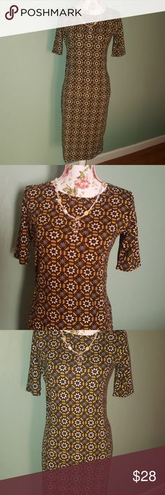 NWOT LuLaRoe dress :) Medium size cute dress :) never used . LuLaRoe Dresses