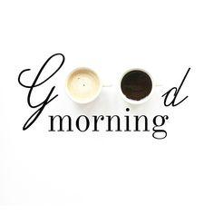 Good morning ☕️ #goodmorning #goodday #wakeup