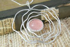 Sterling silver wire quartz copper rose gold by RubyRoseJewels