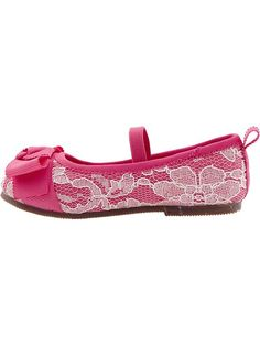 Old Navy | Bow-Tie Lace Ballet Flats for Baby