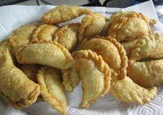 Empanadas fritas de pollo