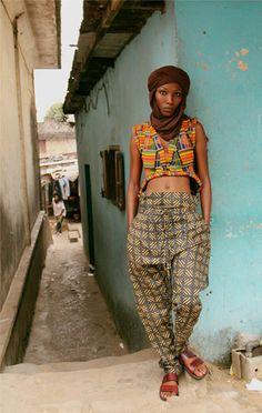 Eco, eco: el chic africano de Loza Maléombho   itfashion.com