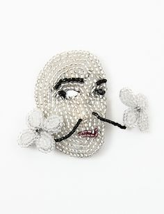 Marianne Batlle Brooches- Dali Flower ~~Creatures of Comfort