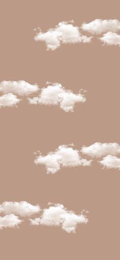 Neutral Wallpaper, Cloud Wallpaper, Brown Wallpaper, Iphone Background Wallpaper, Aesthetic Pastel Wallpaper, Aesthetic Backgrounds, Aesthetic Wallpapers, Wallpaper Quotes, Cream Wallpaper
