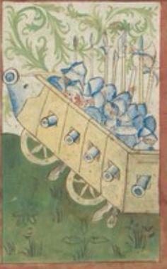 Kriegstechnik (Bilderhandschrift) Oberrhein · um 1420-1440 Ms. Rh. hist. 33b  Folio 137v