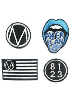 American Candy patch set