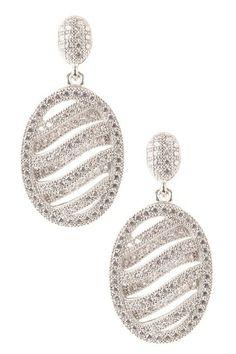 CZ Dangle Earrings by Non Specific on @HauteLook