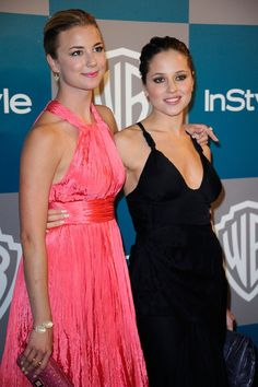 Emily VanCamp Photos - 13th Annual Warner Bros. And InStyle Golden Globe Awards After Party - Arrivals - Zimbio