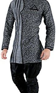 New-Looks-Mens-Linen-Kurta-Pyjama-0