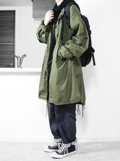 JUN│verwendete Oberbekleidung-Looks - Herrenmode Men Street, Street Wear, Street Food, Casual Outfits, Fashion Outfits, Fashion Trends, Fashion Styles, Men's Fashion, Fashion Shirts
