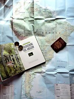 Sometimes I wonder if all I need is a map and my passport to make it all better...