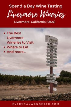 Wine Tasting at Livermore Wineries in Livermore California | Livermore California Downtown | Livermore California Things to Do | Livermore California Food | California Trip | California Travel | California Vacation | California Wineries | California Wine Country | Best wineries in California | Wine Trips | Wine Trip Snacks | Wine Travel | Wine Travel Bag | Wine Travel Kit | Wine Vacation Outfits | Wine Vacations | Wine Vacations Travel Guide | #livermore #california #wine #US #USA #USTravel