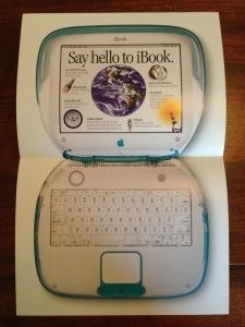 Apples 1999 iBook brochure inside