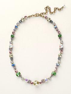Classic Clover Necklace in Spring Rain - Sorrelli