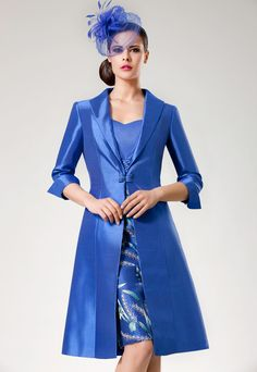 mother of the bride dress with matching overcoat | Annie's wedding ...