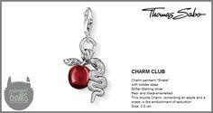 Thomas Sabo Fall 2012 - The Charm Club - Snake - http://www.endangeredtrolls.com/thomas-sabo-fall-2012-charms-2/#