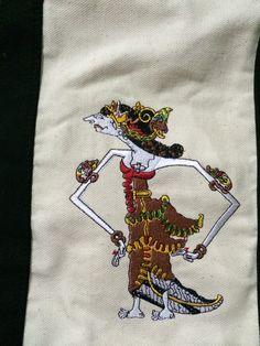 canvas bag with batik and embroidered Srikandi IDR 470,000/ USD 50. whatsapp +628170074777 or www.kalimayashop.com