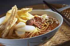 Asam Laksa Traditional Indonesian Dish