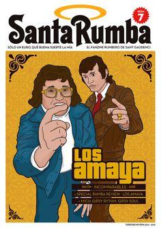 ¡Portada del número 7 en EXCLUSIVA!  18 de novembre a la #DiadaRumba, www.santgaudenci.com i a www.facebook.com/SantaRumba