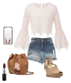 """Look dia "" by camibg on Polyvore featuring River Island, MICHAEL Michael Kors, UGG, Kate Spade and MAC Cosmetics"