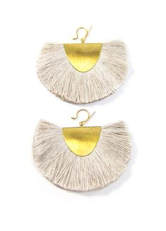 Hazel Cox Little Rock Fan Earrings