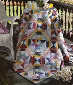 Quilt PATTERN ~ Star of the Orient ~ Challenging Quilting Pattern from Magazine
