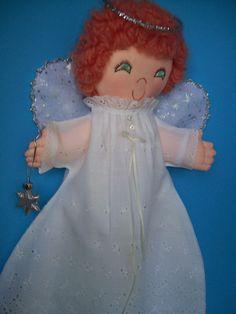 Cloth Doll PDF Pattern Stray Angel Soft Cloth 15 by PeekabooPorch, $9.00