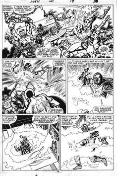 Avengers #269, p. 19 Comic Art