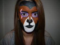 Scar Makeup Look for Halloween