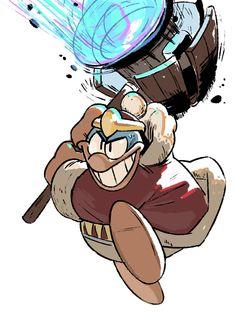 Smash Bros Sketches: King Dedede