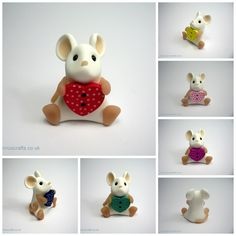 Dotty Heart Love Mouse (£18)