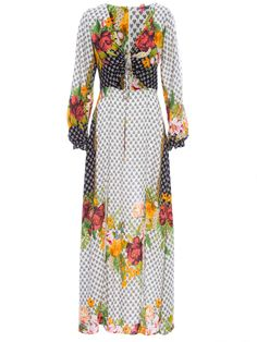 Vestido Longo Doralice - Farm - Branco - Shop2gether