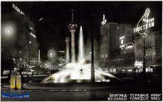 Terazije fountain before WW2