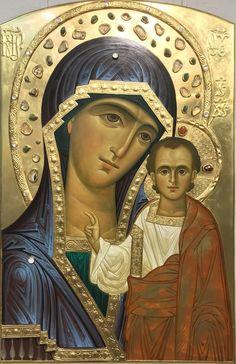 Orthodox Icons, Mother Mary, Portrait Art, Madonna, Mona Lisa, Princess Zelda, Statue, Artwork, Pictures