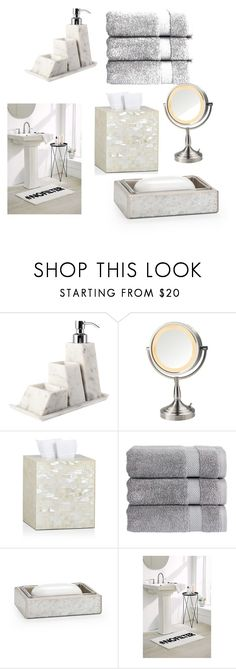 """my bathroom fantasy"" by dodg on Polyvore featuring Scandola Marmi, Labrazel, Christy, Urban Outfitters and bathroom"