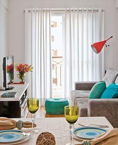 11 Salas pequenas de apartamento – Simplichique