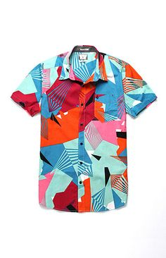 Volcom Why Factor Printed Woven Shirt