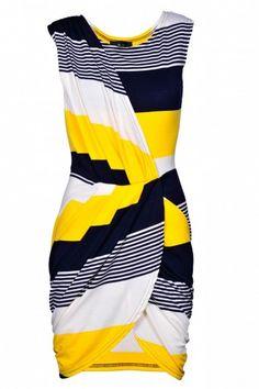AX faux wrap dress
