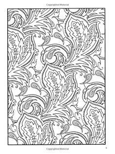 paisley designs coloring book amazoncom paisley designs coloring book dover design coloring books coloring pages pinterest coloring books - Paisley Designs Coloring Book