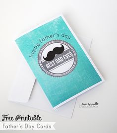 Free Printable Father's Day Cards 2014 @savedbyloves