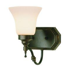 Trans Globe Lighting 3931 Single Light Up Lighting Wall Sconce, Gold